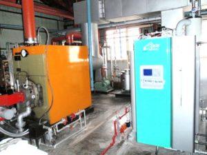 羊蹄山麓環境衛生組合-温水ボイラー(加温用)